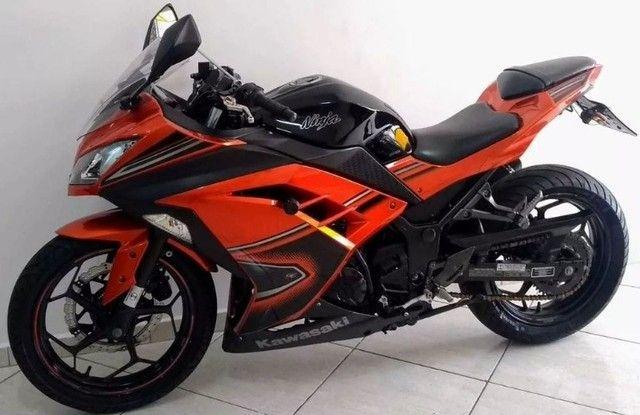 Kawasaki Ninja 300 abs 2014- Único Dono- Parcelas Baratas- Ipva Pago  - Foto 5