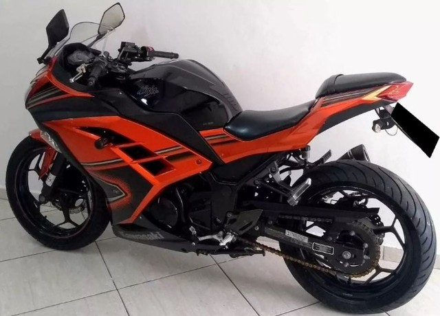 Kawasaki Ninja 300 abs 2014- Único Dono- Parcelas Baratas- Ipva Pago  - Foto 4