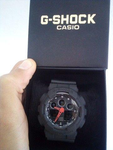 Relógio Casio G-Shock GA100 A prova d'água - Foto 4