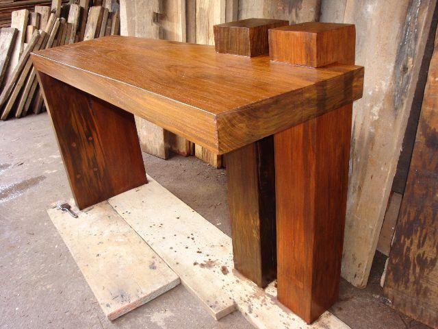 Bancadas de madeira valores variados - Foto 4