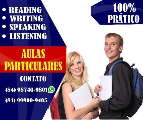 Aulas particulares de Inglês (curso)