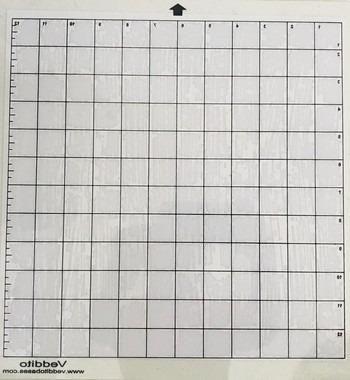 Base de corte Veddito 30,5 x 30,5 cm para Silhouette Cameo + fita teflon! para silhoette!