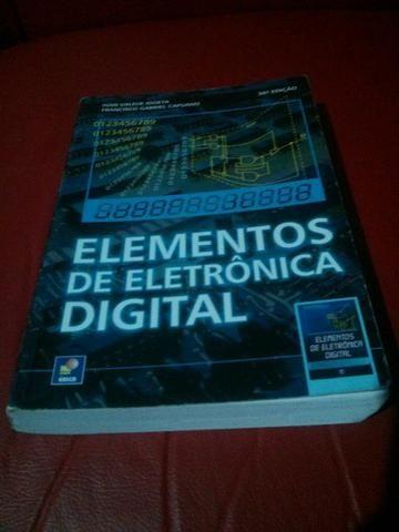 Elementos De Eletronica Digital - Editora Érica