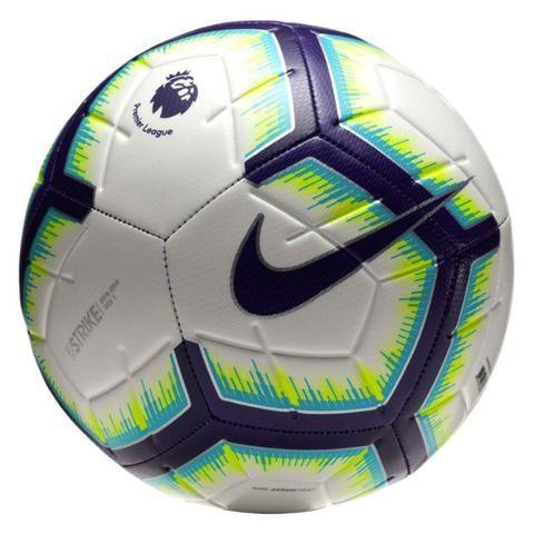 Bola Nike Campo Strike Premier 18 19 N5 bco azl - Esportes e ... 307b5ce3ab84a
