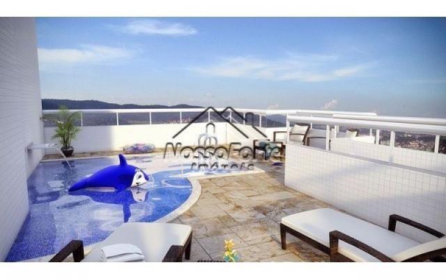 Apartamento na Vila Mirim em Praia Grande - Foto 3