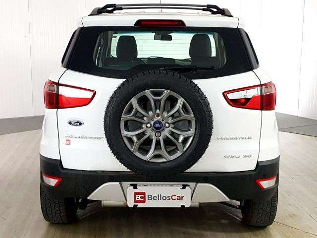 Ford EcoSport FREESTYLE 2.0 16V 4WD Flex 5p - Branco - 2017 - Foto 3