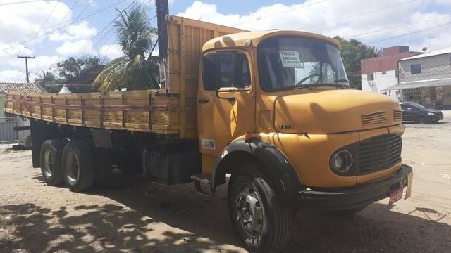 Vendo caminhão 1113 ano 83 - Foto 6