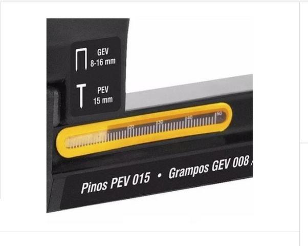 Pinador / Grampeador elétrico da Vonder 220V GPE 816 - Foto 4