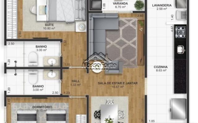 Lançamento Apartamento na Vila Assunção em Praia Grande - Foto 16