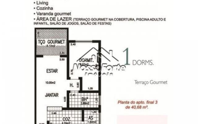 Apartamento na Vila Mirim em Praia Grande - Foto 13