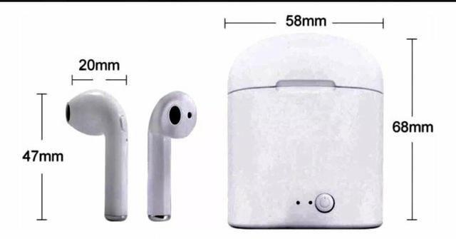 Fone Bluetooth I7S TWS - Foto 3