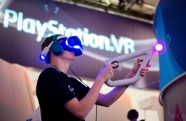 Festa Playstation PS4 VR (Realidade Virtual)