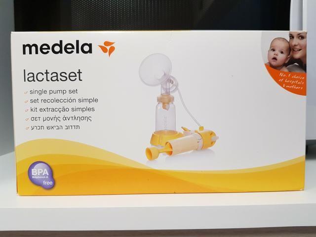 Bomba Manual De Leite Materno - Lactaset Medela