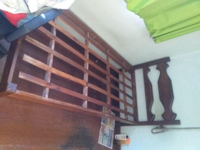 Cama de solteiro de sucupira com colchão - Foto 3