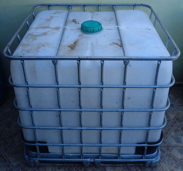 Container 1000 Litros Bombona Reservatório 1000 litros - Foto 4