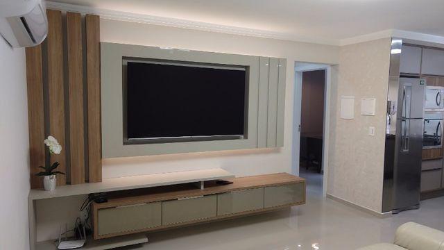 Apartamento à 300m mar com 02 dorms, novo, excelente mobilia!!! - Foto 12