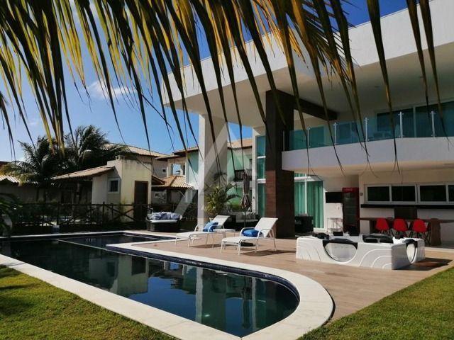 Casa de luxo mobiliada 6 quartos em Guarajuba/Camaçari-BA - Foto 2