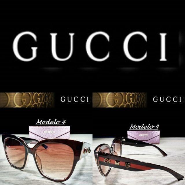 Óculos Feminino Gucci 8311 Retangular com Proteção UV - Foto 4