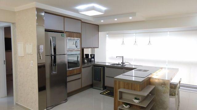Apartamento à 300m mar com 02 dorms, novo, excelente mobilia!!! - Foto 13