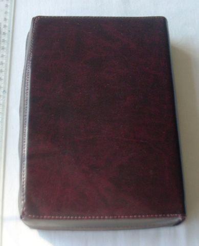 Livro Religioso - Bíblia de Jerusalém - Capa de Couro Com Zíper - 2001 - Foto 4