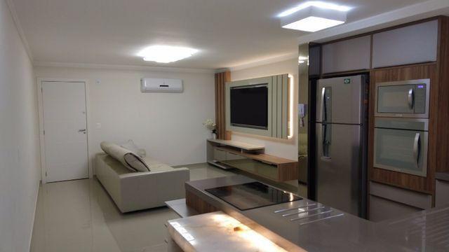 Apartamento à 300m mar com 02 dorms, novo, excelente mobilia!!! - Foto 8