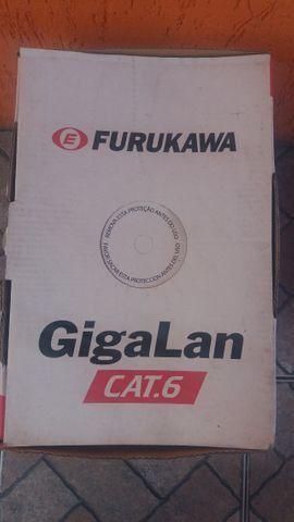 Cabo de Rede UTP Furukawa Categoria 6 / GigaLan - Oferta!