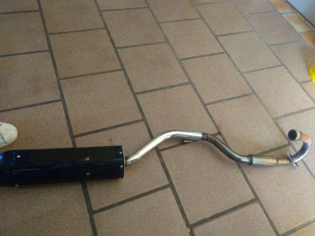 Cano de Moto com ponteira - Foto 4