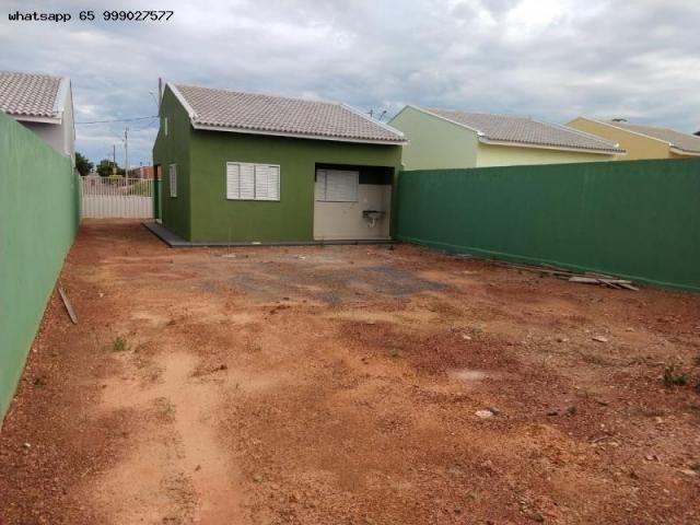 Casa para Venda em Várzea Grande, Novo Mundo, 2 dormitórios, 1 banheiro, 2 vagas - Foto 18