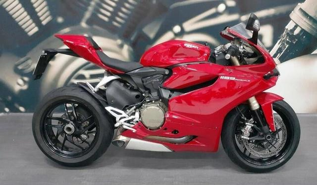 Ducati 1199 panigale 2015 vermelho