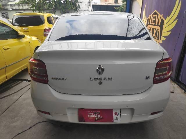 Ex táxi Logan Expression 15 + 40 carros no estoque - Foto 5