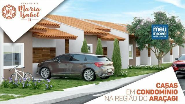 34 Maria Isabel 2 - Casas com 2 quartos 64m2 na região do Araçagi!