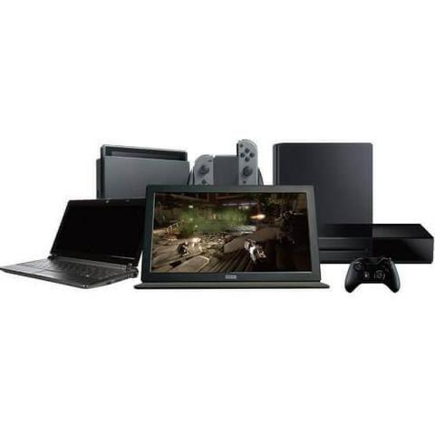 Tela Monitor Gamer Portátil HD Pro Hori - Universal - Foto 2
