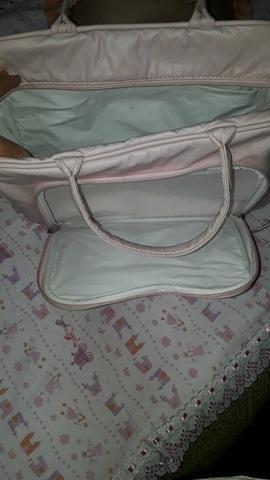 Bolsa Maternidade Rosa bebê Tam. grande