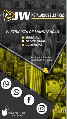 Eletricista de manutenção predial residência e comercial
