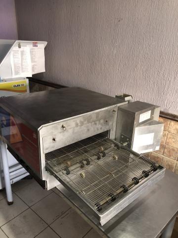 Forno esteira de pizza elétrico 220v - Foto 2