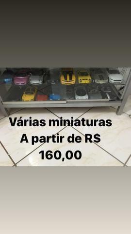 Miniaturas 1/18 a partir de R$ 160