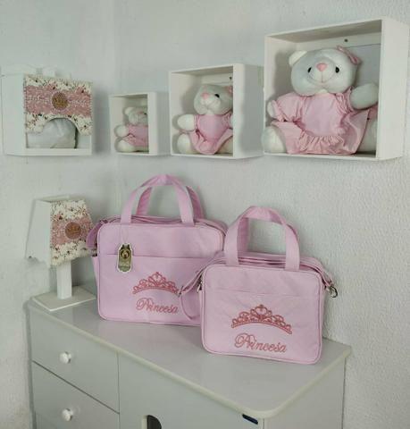 Kit Bolsa Maternidade Class Baby 2 Peças Menina