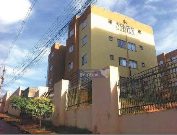 Apartamento com 2 dormitórios à venda, 43 m² por R$ 52.649,02 - Jardim Novo Horizonte - Ro - Foto 2