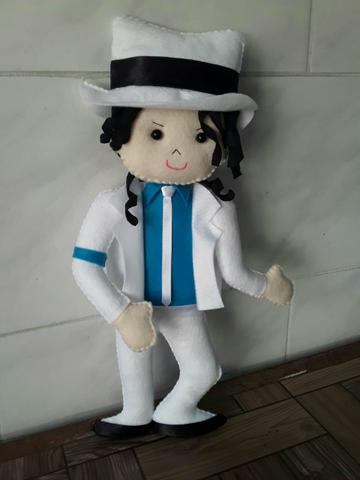 Michael Jackson em feltro - Foto 2