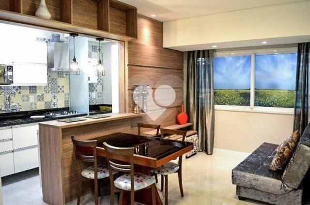 Apartamento à venda com 1 dormitórios em Azenha, Porto alegre cod:28-IM415015 - Foto 10