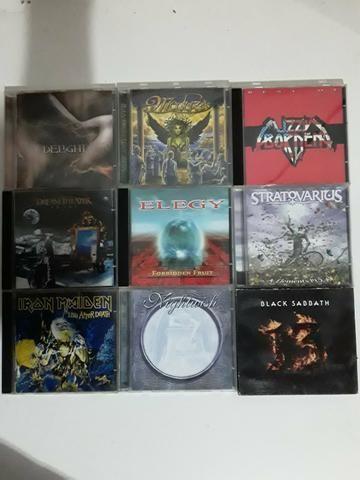 CDs Rock Metal e outros - Foto 2