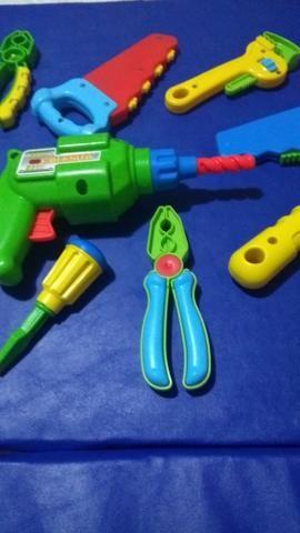 Conjunto de ferramentas novinhas - Foto 5
