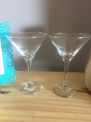 Jogo de 4 taças p/ Martini - Foto 4
