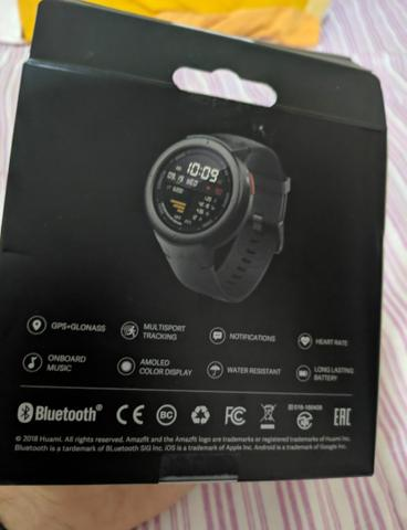 Relógio smartwatch Amazfit verge normal - Foto 3