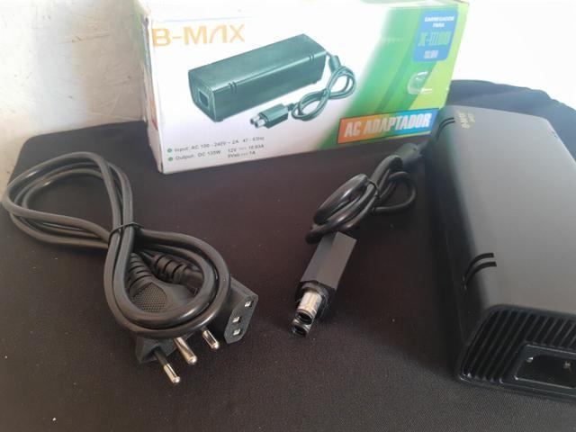 Fonte para Xbox-360 e Super Slim Bivolt<br>X-III60 2 Pinos  - Foto 3