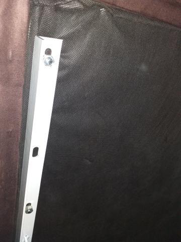 Cama bau americana nobuck (Ortobom) novinha - Foto 3