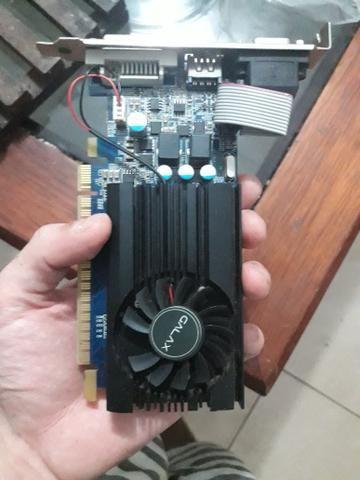 Placa de Video Gt 730 1GB (com defeito) - Foto 2