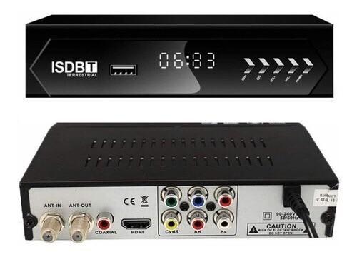 Conversor Set Top Box Digital Gravador Receptor Tv Original - Foto 3