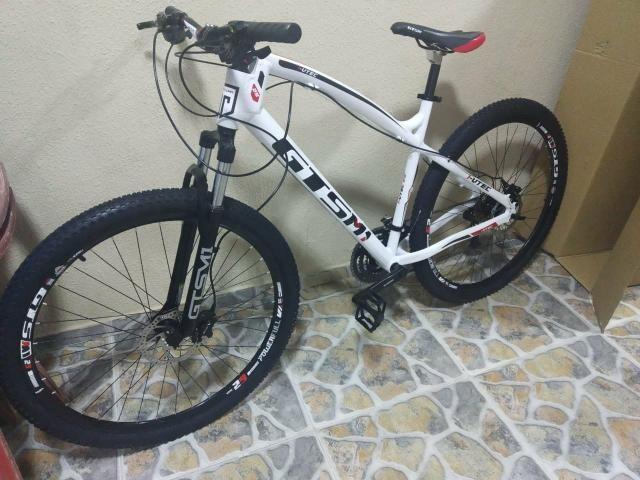 Bicicleta gts 27 velocidade freio hidráulico