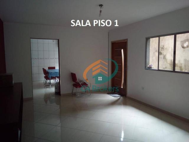 Sobrado com 3 dormitórios à venda, 120 m² por R$ 220.000,00 - Jardim Oliveira II - Guarulh - Foto 2